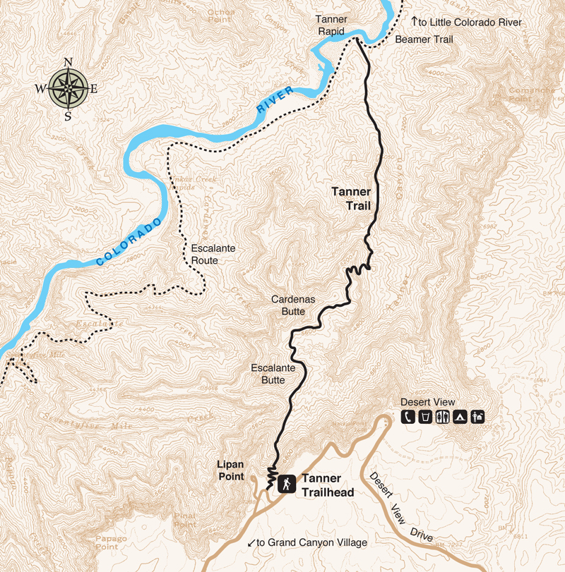 Tanner Trail | Grand Canyon Conservancy