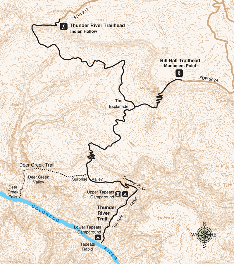 Thunder River Trail / Deer Creek Trail | Grand Canyon Conservancy on
